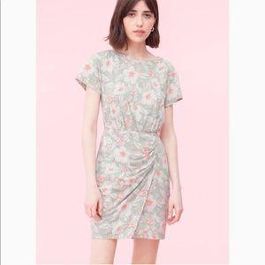 Rebecca Taylor Floral Overlap Dress